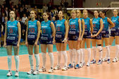 Volleybal team Dynamo(MSC) — Stok fotoğraf