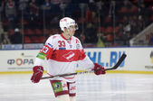 Forward of Spartak Bodrov Denis — Stock Photo