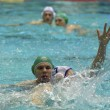 Dynamo(Moscow) vs Sintez (Kazan) of waterpolo — Stock Photo