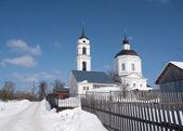 The temple of Prelate Nikolay Chudotvorets — Stock Photo