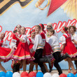 Ensemble of national dance Rodnichok — Stock Photo #10504089
