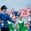 Ensemble of national dance Rodnichok — Stock Photo #10504155