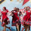 Ensemble of national dance Rodnichok — Stock Photo #10504186