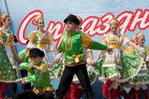 Ensemble Russia — Stock Photo