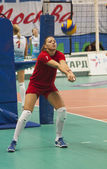 Joueuse de volley-ball de crvena zvezda équipe — Photo