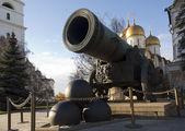Tsar-cannon in Moscow Kremlin — Stock Photo