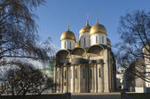 Uspenskiy Cathedral in Moscow Kremlin — Stock Photo