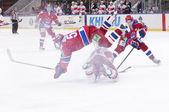 "Hockey match ""Spartak""-""CSKA"" — Stock Photo"