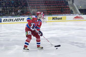 Alexander Guskov. Russian professional ice hockey defenceman — Stock Photo
