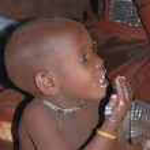 Little himba boy — Stock Photo #9105243