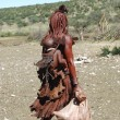 Himba woman. Native african peolple — Photo
