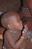 Little himba boy — Stock Photo