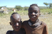 Little himba boy — Stockfoto