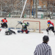 Lukashov`s memoriam game  in Podolsk — Stock Photo
