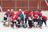 Hockey team Desna Znamensky — Stock Photo