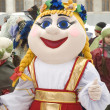 Elena the beautiful. Doll on Maslenitsa holiday — Stock Photo
