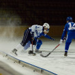 Bandy game Dynamo vs Baikal — Stock Photo
