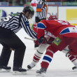 "Foto Stock: Hockey match ""Spartak""-""CSKA"""