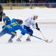 Dynamo(white) vs Zorkij(blue) — Stock Photo
