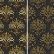 Royalty-Free Stock  : Golden seamless pattern - vector illustration