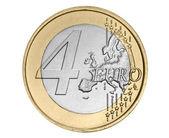 Four euro coin — Stock Photo