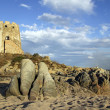 Stock Photo: Old fortress near sea