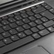 Royalty-Free Stock Photo: A laptop keyboard