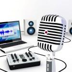 Home Recording Studio Equipment — Stock Photo #10067432