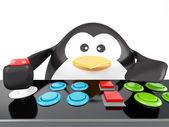 Penguin arcade — Photo