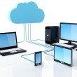 Cloud Computing Concept — Stock Photo #9582990