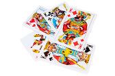 Poker in kings — Stock Photo