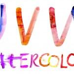 Alphabet. Watercolor — Stock Photo #10641042