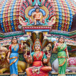 Hindu temple in Singapore — Stock Photo #10574233