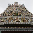 Hindu temple in Singapore - Stockfoto