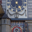 Foto Stock: Zodiacal clock in Bern
