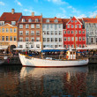 Copenhagen (Nyhavn district) in a sunny summer day — Stock Photo #10574851