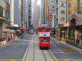 Tranvía de hong kong — Foto de Stock