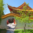 Traditional chinese garden — Stock Photo #8399734