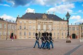 Amalienborg castle — Stock Photo