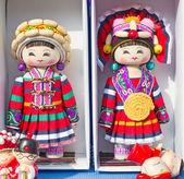 китайские куклы — Стоковое фото