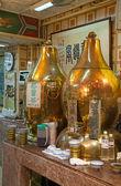 Traditional chinese kitchen — Stock Photo