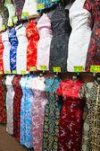 Traditional chinese silk dress — Stock Photo