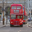 He Classical London Doubledecker - Stock Photo