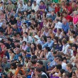 Public on Kecak dance performance - Stock Photo