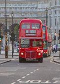 He Classical London Doubledecker — Stock Photo