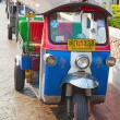 Famous bangkok moto-taxi called tuk-tuk — Stock Photo #9604227