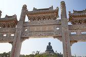 Po Lin Monastery and Giant Buddha — Stock Photo