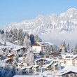 Winter in alps — Stock fotografie
