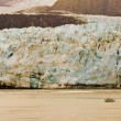 Stock Photo: AlaskGlacier and Boat