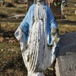 Stock Photo: Grave Marker Mother Mary